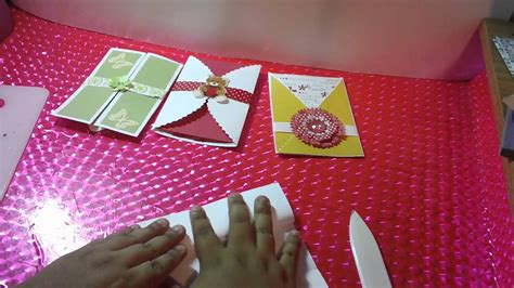 tarjetassobre pop open scrapbook facil  original youtube