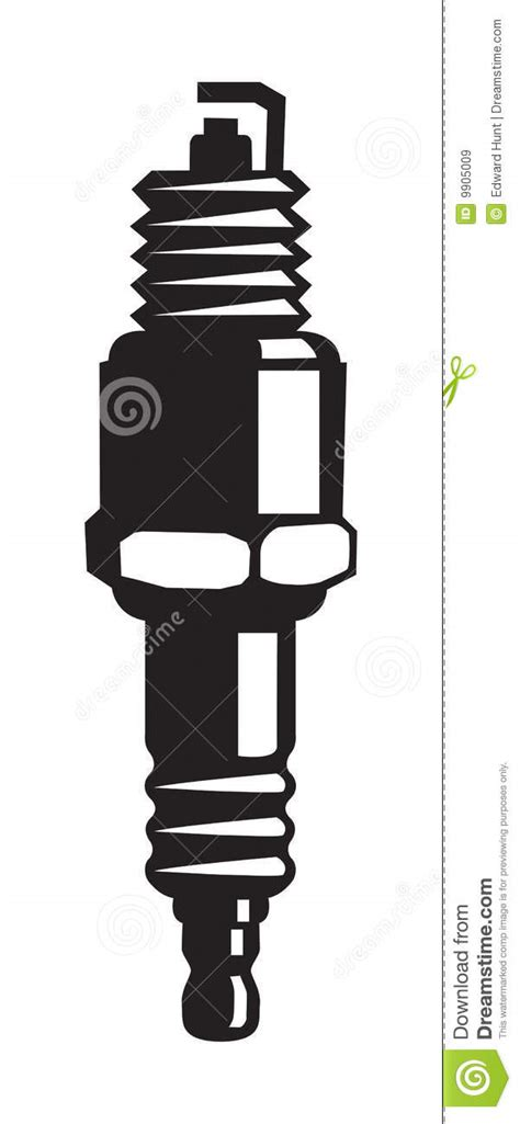 spark plug royalty  stock images image