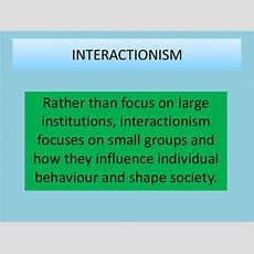 Lesson 2  Feminism And Interactionalism