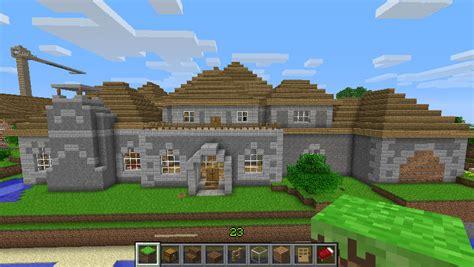 Minecraft Boat Town stone mansion boat town craft minecraft server