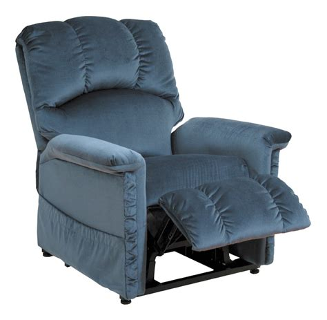 catnapper chion power lift lounger recliner blue cn