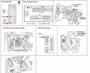 35 2005 Nissan Altima 25 Fuse Box Diagram