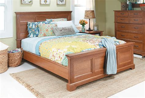 bedroom set oak bed woodworking project woodsmith plans