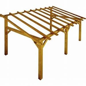 lean to wood pergola 5 x 3 m sherwood buy lean to wood With wonderful comment monter une tonnelle de jardin 1 construire une tonnelle de jardin 100 images pergola