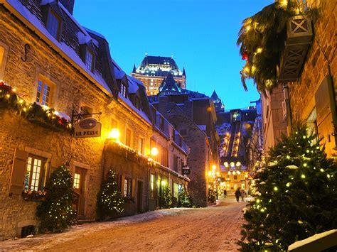 Easy New Year Eve Vacation Idea Quebec City Conde