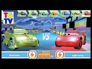 Cars Fast as Lightning NEON RACING Komodo 5 6 vs