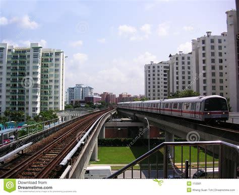 Singapore Train Stock Image