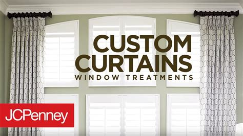 Jcpenney Custom Draperies by Custom Curtains And Drapes For Large Windows Jcpenney In