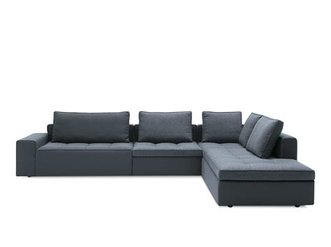 chaise calligaris corner fabric sofa with chaise longue lounge mix 02 by