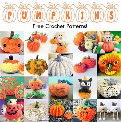 Crochet Patterns Halloween Fall Pumpkins Feltmagnet Should