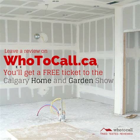 giveaway free tickets to the calgary home and garden show