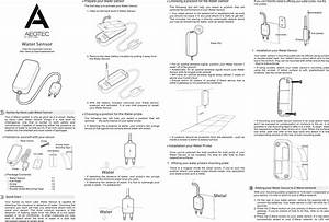 Aeon Labs Dsb45 Water Sensor User Manual Water Sensor