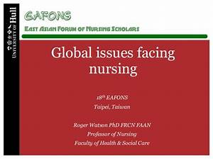Global issue facing nursing