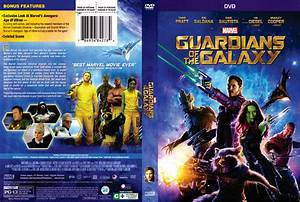 Guardians of the Galaxy DVD Cover (2014) R1