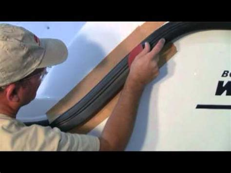 Boat Rub Rail Repair by Rub Rail Repair Spanish Youtube