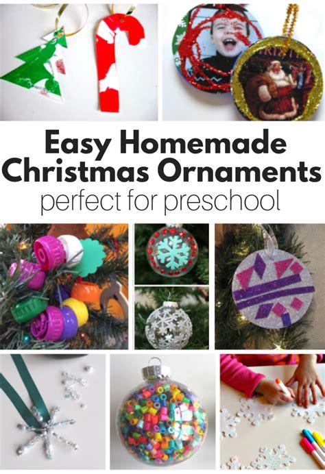 ornaments for preschool no 268   Homemade Christmas Ornaments perfect for preschool