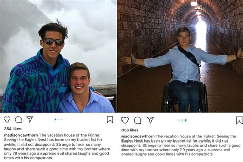 madison cawthorn deletes insta post  hitler home vacation