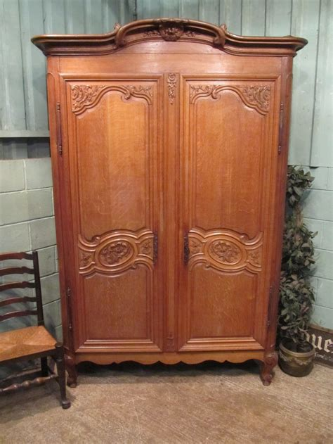 Antique Oak Armoire Wardrobe by Antique Oak Armoire Wardrobe C1860 317685