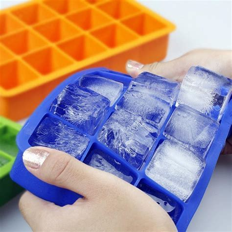 Ice Cube Silicone Mold Ice Square Shape   buy kitchen