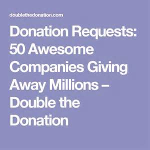 give away sofa to charity donation requests 50 awesome companies giving away