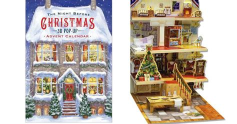 night before advent party before 3d pop up advent calendar 12 58 wheel n deal