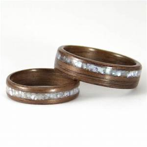 walnut wooden wedding rings harestree With wooden wedding ring