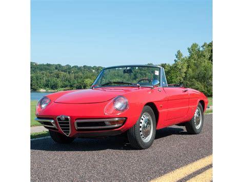 1967 Alfa Romeo Duetto For Sale 1967 alfa romeo duetto for sale classiccars cc 791579