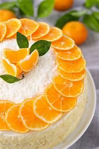 Mandarin Orange Cake - Olga's Flavor Factory