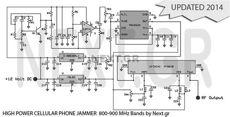 jammer circuit rf circuits next gr