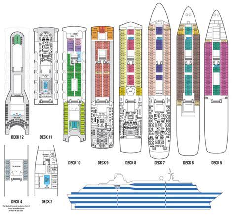 pearl deck plan 5 the saga sapphire cruise ship maritime memories