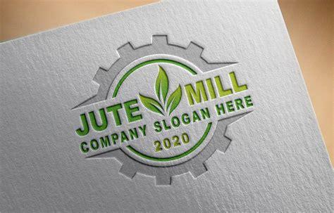 Free Jute Company Logo Template - GraphicsFamily