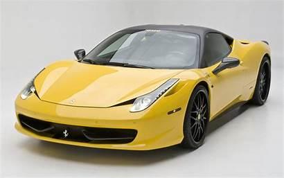 Ferrari 458 Italia Dmc Yellow Milano Side