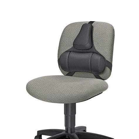 coussin lombaire chaise bureau fellowes professional back support officeworks