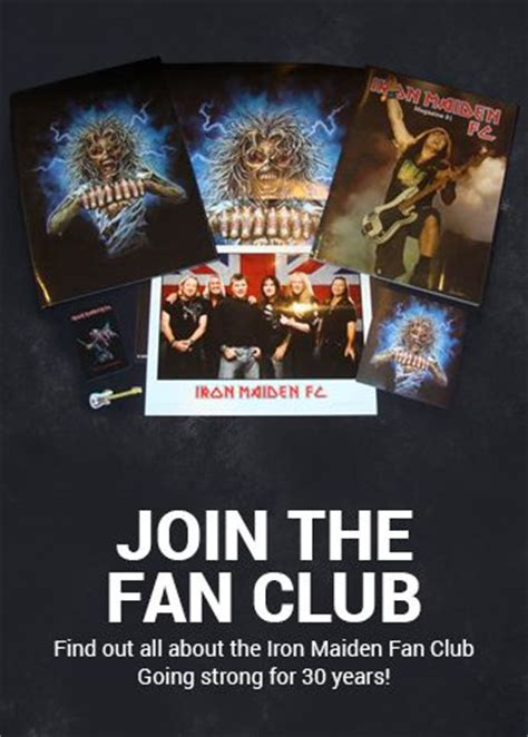 foreigner official fan club official iron maiden fanclub