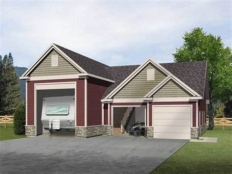 house plans with rv garage attached rv garage with loft 2237sl cad available pdf