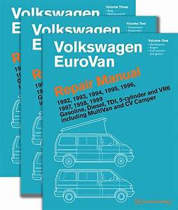 Bentley Service Manual  Volkswagen Eurovan  T4  1992