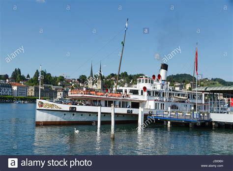 Paddle Boats Zug by Lake Lucerne Boat Cruise Stock Photos Lake Lucerne Boat