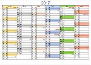 Kostenlose kalendervorlagen 2017 office lernencom for Halbjahreskalender