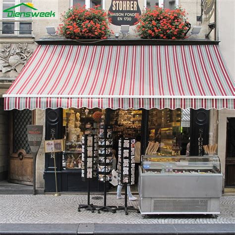 diensweek patio awning retractable manual commercial gradequal hoderglobe