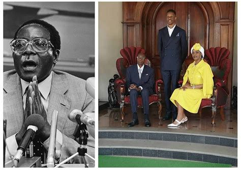 graceful aging   year  robert mugabe