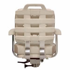grady white pompanette x t2000fws beige ivory vinyl boat helm seat chair ebay