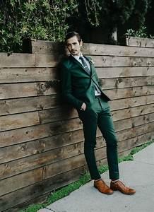 Green Men Suits - Mens Suits Tips