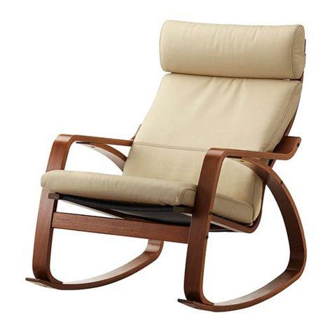 po 196 ng rocking chair birch veneer robust glose black