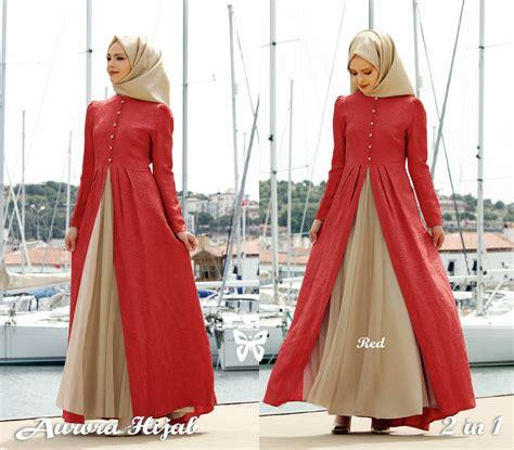 jual baju muslim wanita model gamis baju muslim fashion terbaru setelan modern