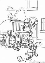 Coloring Builder Bob Printable sketch template