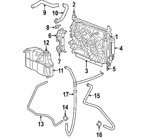 2007 Dodge Charger Engine Diagram by Parts 174 Dodge Charger Radiator Components Oem Parts