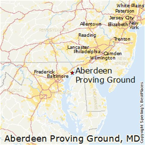 places    aberdeen proving ground maryland