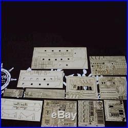 diy kits wooden black pearl ship assembly model kits