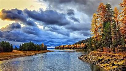 Screensavers Autumn Fall Nature Wallpapers Landscapes Trees