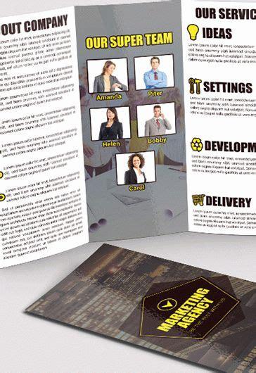 Marketing Free Tri Fold Psd Brochure Template By It Software Free Psd Tri Fold Psd Brochure Template By